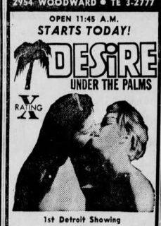 Desire Under the Palms 1968 tek part izle