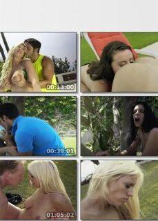 Lüks Villa Bahçesinde Grup Seks Yapıyorlar hd izle